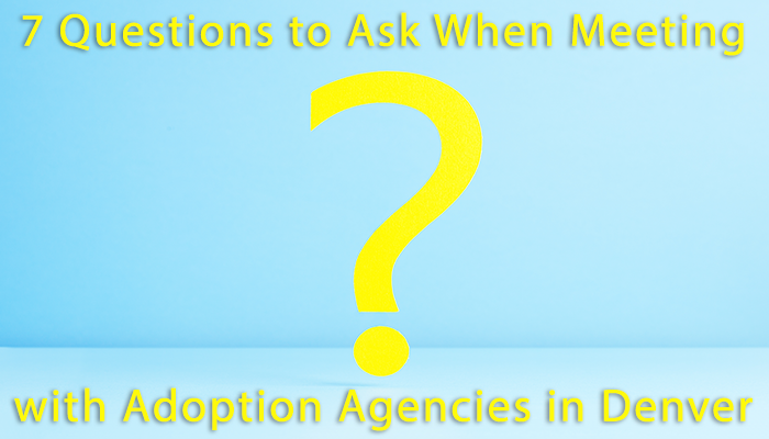 7 Questions to Ask When Meeting with Adoption Agencies in Denver