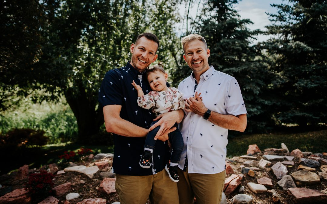 Our Adoption Story: Paul, Dave, and Amelia